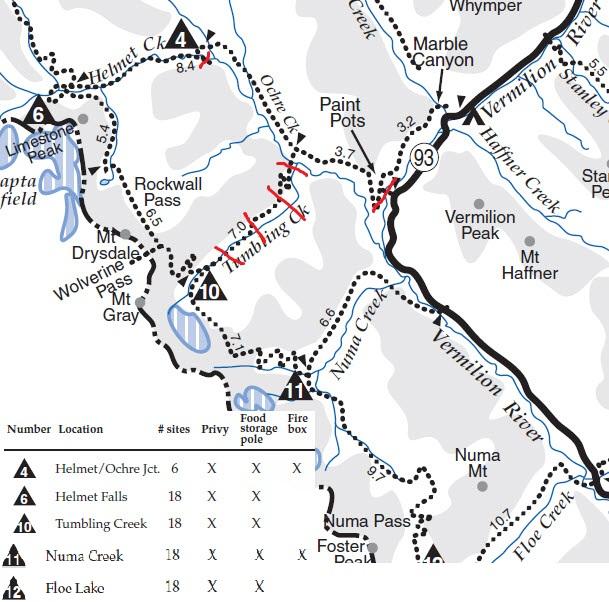 Kootenay Rockwall Trail 171 Canmo Ca Canmo Ca